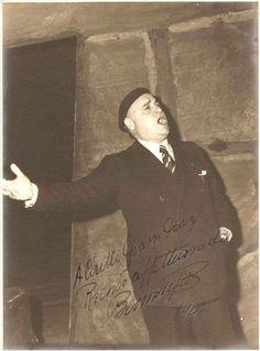 Beniamino Gigli Italian Tenor Original Signat 1942   eBay