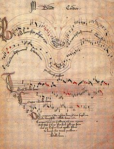Late medieval score by jkervinen, via Flickr