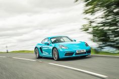 The Porsche Cayman (718) #carleasing deal   One of the many car and van makes available to lease from www.carlease.uk.com