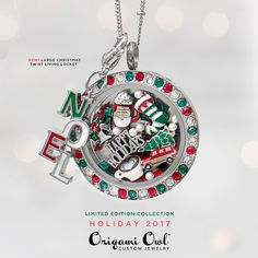 Origami Owl. 2017 Holiday Collection! CharmingLocketsByAline.OrigamiOwl.com