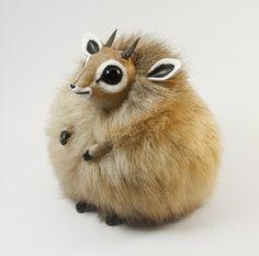 Dik-Dik Furry Creature by RamalamaCreatures.deviantart.com on @deviantART http://ramalamacreatures.deviantart.com/art/Wolf-Spirit-Furry-Creature-347823107?q=favby%3Alawsdraws%2F49082115=64