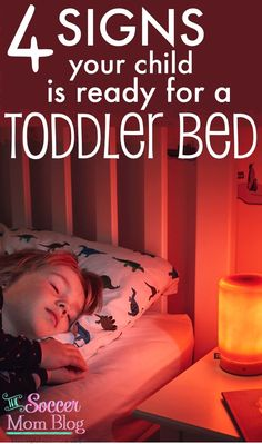 "Time to Ditch the Crib? 4 Signs a Toddler is Ready for a ""Big Kid"" Bed Parenting Toddlers, Kids And Parenting, Parenting Hacks, Parenting Classes, Parenting Quotes, Toddler Bed Transition, Transitioning To Toddler Bed, Toddler Sleep, Baby Sleep"