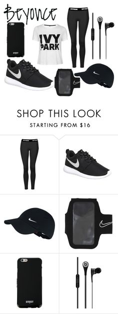 """""""Untitled #90"""" by b3ckyb1tch ❤ liked on Polyvore featuring Ivy Park, Topshop, NIKE and Givenchy"""