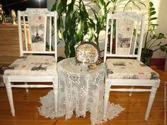 Стулья Парижский уголок - 2 Винтажный стул декупаж. Стулья винтажные. Ирина…
