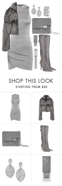 """""""All Grey"""" by wolfiexo ❤ liked on Polyvore featuring WearAll, Michael Kors, Zimmermann, Burberry, Morgan Lane, grey and polyvorefashion"""