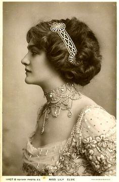 LA IMAGEN DEL SIGLO.: Divas de la Belle époque. LILY ELSIE