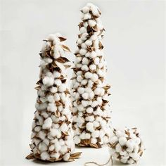 Cotton Petal Tree | King Ranch Merry Christmas To All, Christmas Games, Christmas Crafts, Xmas, Cotton Bolls, Cotton Plant, King Ranch, Snowflakes, Arts And Crafts