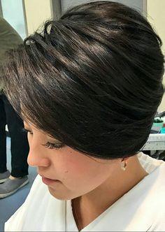 Easy Short Haircuts, Short Hair Cuts, Short Hair Styles, Hair Dos, Updos, Hair Color, Japan, Bobs, Hairstyles