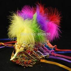 fashion crack man mask venetian masquerade ball ($)