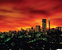 The Johannesburg Skyline BelAfrique - Your Personal Travel Planner www.belafrique.co.za