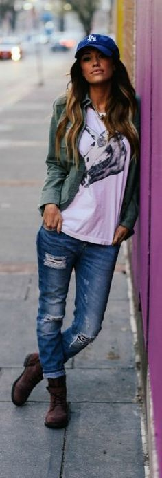 classy casual jeans sweaters boots - Google Search