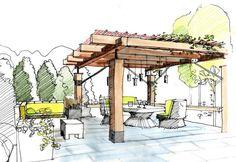 Landscape Architecture Garden Plan -- Landscape Architecture Design Process Pdf these Landscape Architect Jobs Los Angeles Landscape Architecture Drawing, Landscape Sketch, Landscape Plans, Landscape Drawings, Cool Landscapes, Architecture Details, Desert Landscape, Landscape Architects, Architecture Plan