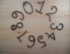 Wrought House Number /Iron House Numbers 5 Inches/home
