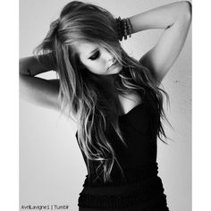 Find images and videos about black and white, Avril Lavigne and April on We Heart It - the app to get lost in what you love. Avril Lavigne, Punk Rock Princess, Tumblr, Female Singers, Celebs, Celebrities, Picture Poses, Beautiful People, Hair Beauty