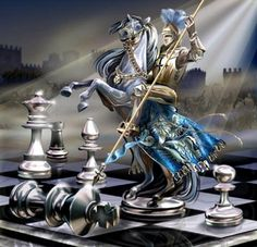 Inspiration for Elizabeth's chess games with Finvarra in The Warrior's Prize, book 4 of the True Love Brides series of #medieval #Scottish romances by #ClaireDelacroix #Ravensmuir