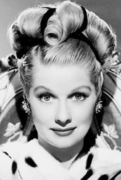 Lucille Ball always seemed to be unaware of how beautiful she really was.