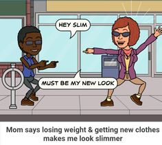 #Mom #compliment #slim #weightloss #new #clothes #look #health #healthy #fit #selfimprovement #self #change #fashion