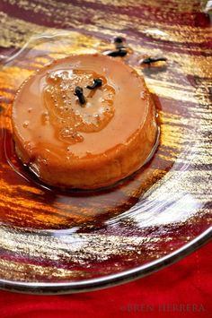 9 SPICE RUM & GINGER FLAN