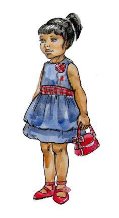 Детские картинки одетых людей