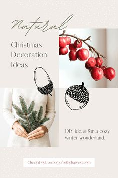 Natural Christmas Decorations #holiday #decor #christmas Christmas Gift Guide, Holiday Gifts, Christmas Gifts, Christmas Decorations, Holiday Decor, Xmas, Decoration Design, Decoration Table, Shops