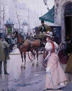 Juan Soler Spanish Impressionist New Realism painter Tutt'Art@ () Spanish Painters, Spanish Artists, Illustrations Vintage, F Pictures, Painting People, Great Paintings, His Travel, France, Optical Illusions