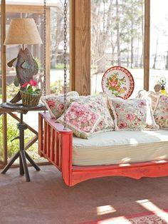 Sleeping porch!   love this idea. by keisha