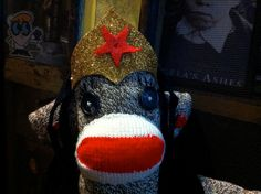 Wonder Woman Sock Monkey made to order by POST by katarinathorsen, $75.00