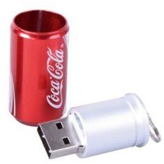 Clé #USB en forme de canette de #Coca #original http://amzn.to/2sppSvg