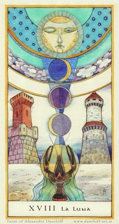The Moon: Tarot of Pisces