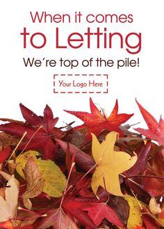 When it comes to letting we're top of the pile! Product Code: E1527 @estateagentleaflets  Visit our website for more information! #leaflet #estateagentleaflets #estateagents