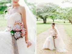 Hawaiian Bridal Inspiration Shoot