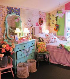 I want to do one wall patchwork like of like this at Nice and Cozy @littlegreenbarn