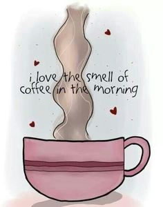 ♥ the smell of coffee..