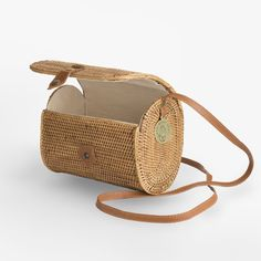 The Lou Bag by Hartwood house www.the-saltstore.com straw bag rattan bag