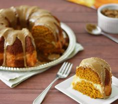 Confession #94: I have a weakness... Pumpkin Cream Cheese Bundt Cake