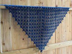 Shallow Favorites: Crochet Triangle shawl - shallow Boyi - shallow Boyi