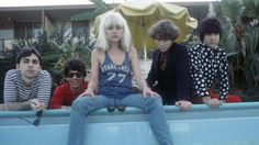 how to take a picture of rock 'n' roll | Blondie by michael ochs