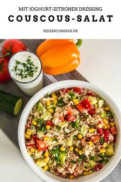 Clean Recipes, Healthy Recipes, Couscous Salad Recipes, Food Crush, Yogurt Recipes, Main Meals, Meal Prep, Clean Eating, Food Porn