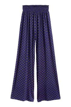 Pantaloni ampi in jersey | H&M