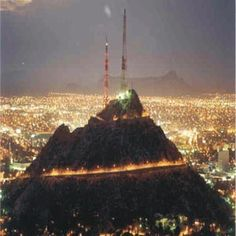 Hermosillo, Sonora. MEXICO Cerro de la Campana