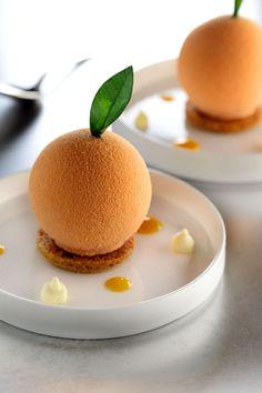 Gourmet Desserts, Fancy Desserts, No Bake Desserts, Just Desserts, Gourmet Recipes, Delicious Desserts, Cake Recipes, Dessert Recipes, Mousse Dessert