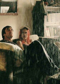 """Eternal sunshine of the spotless mind  """"Incomprehensible and compelling. Winslet & Carey well cast."""" KB"""