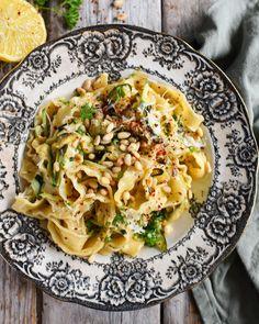 Veggie Recipes, Pasta Recipes, Vegetarian Recipes, Healthy Recipes, Food N, Good Food, I Want Food, Bastilla, Date Dinner