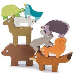 skládanka – lesní zvířátka | Dětské hračky pro holky i kluky | ookidoo.com