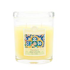 Colonial Candle Sangria Blanca Jar Candle
