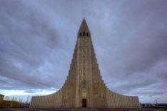 La Hallgrímskirkja, ou église de Hallgrímur à Reykjavik, en Islande