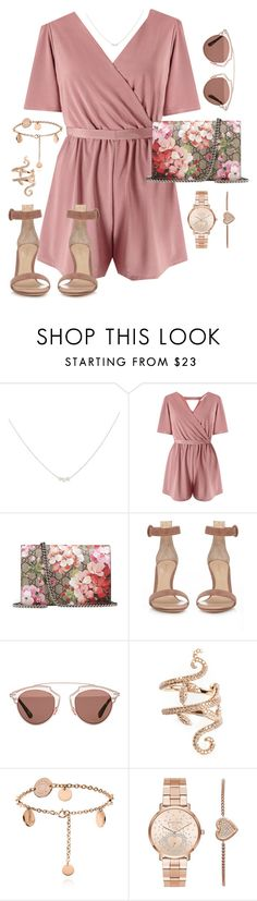 """Untitled #960"" by mixerfromsweden ❤ liked on Polyvore featuring Accessorize, Miss Selfridge, Gucci, Gianvito Rossi, Christian Dior, Elise Dray and Michael Kors"