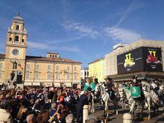 16 Aprile: in Piazza Garibaldi il concerto della Fanfara dei Lancieri di Montebello nel giorno del 200° dall'arrivo a Parma di Maria Luigi in cui si aprono le celebrazioni dedicate al bicentenario.