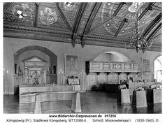 Königsberg Pr.  Schloß, Moskowitersaal 1930-40