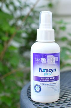 Clean First and Play Safe with Puracyn® Plus #PuracynPlusCleanFirst   A great new must-have for your first aid kit. Non-stinging spray.
